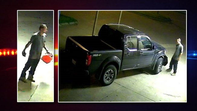 McKinney Fire Looking for Man Who Attempted to Set Fire to Muffler