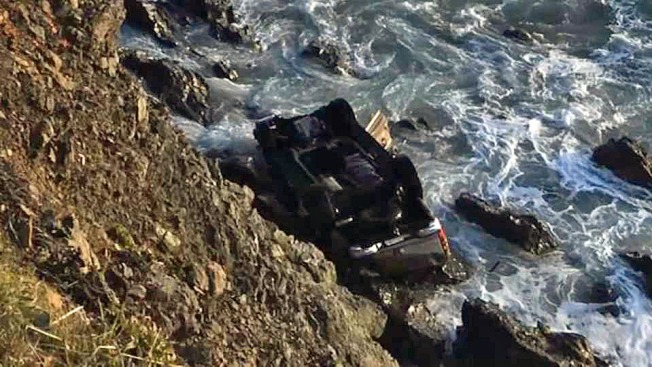 Police Say Woman Was Drunk When Family SUV Drove Off Calif. Cliff