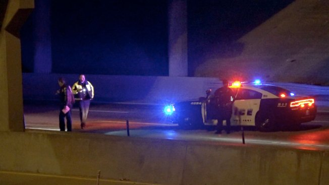 Woman Falls From Overpass, Fatally Struck by 18-Wheeler