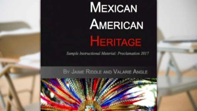 Controversial Mexican-American Textbook Rejected