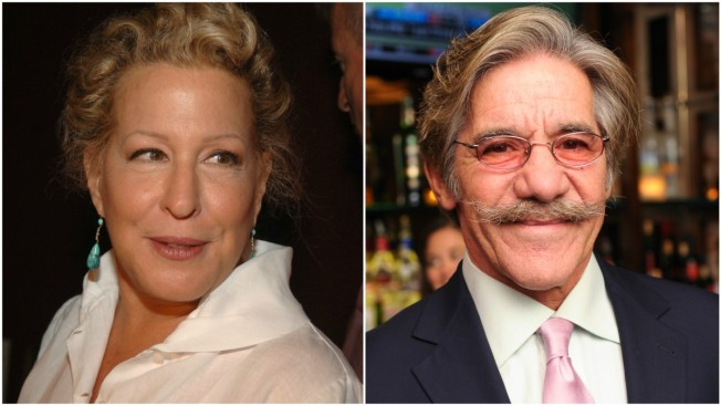 Bette Midler to Geraldo Rivera: Apologize for Alleged Sexual Assault