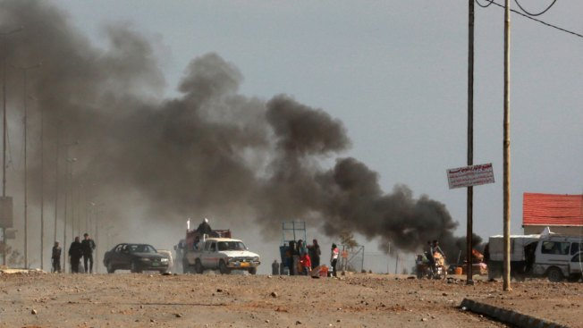 Iraqi Forces Enter Mosul University in Battling IS for City