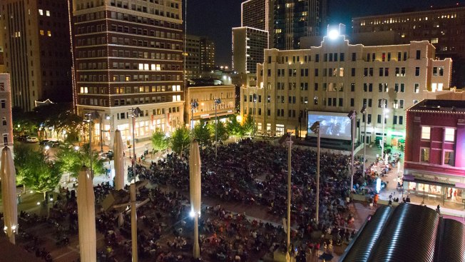 Movie Nights in Sundance Square Return to Downtown Fort Worth