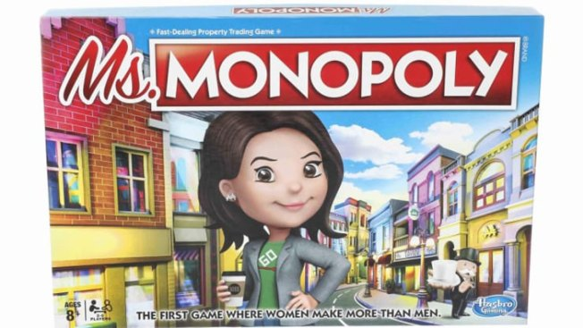 Hasbro Takes on the Gender Pay Gap With New Ms. Monopoly Game