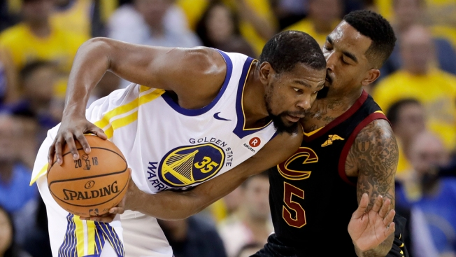 3036895918b6e4 Warriors Withstand James  51 Points to Win NBA Finals Game 1 - NBC 5 ...