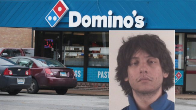 Man Dressed in Domino's Uniform Tries to Rob Domino's Store