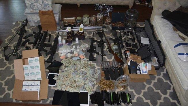 $1 5 Million in Drugs Found After Investigation in Denton, 2