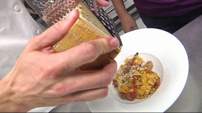 Nonna's Fettucine with Italian Sausage