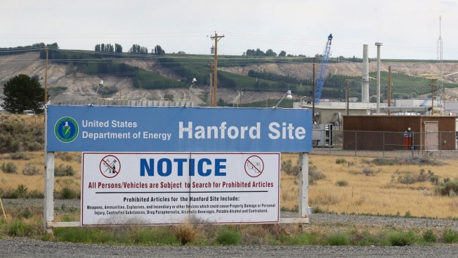 Tunnel collapses at Hanford Nuclear site; officials say no radiation release