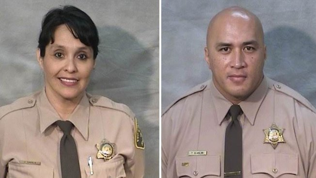 California Corrections Officers Shot by Jail Visitor