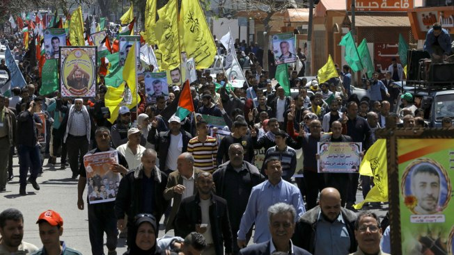 Hundreds of Palestinians Held by Israel Launch Hunger Strike