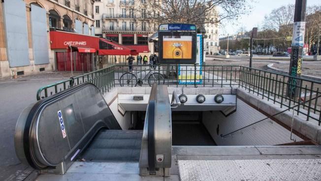 Man in Paris Metro Burned After Serious 'Liquid' Attack