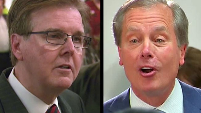 Dewhurst, Patrick Squaring Off in Houston Debate