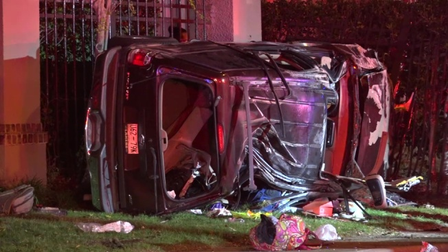 4 to 6 Teens Injured in Rollover Crash in Dallas