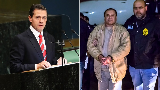 'El Chapo' Accused of Paying $100 Million Bribe to Former Mexican President
