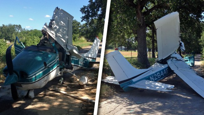 Cessna Crashes Off Bankhead Highway in Parker County