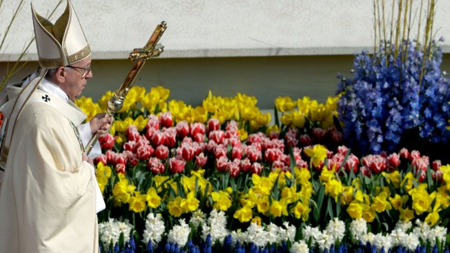 Pope Francis Decries 'Vile' Attack on Syrians in Easter Address