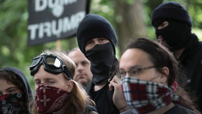 Portland Police Clear Park of Protesters with Flash Bangs, Pepper Spray