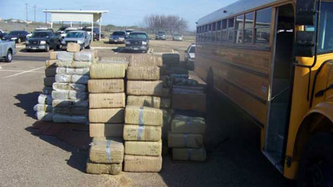 4½ of Tons of Pot Found in Abandoned Bus