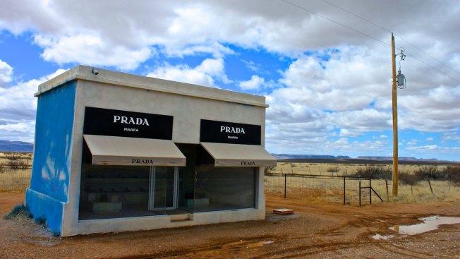 Artist Accused of Vandalizing Prada Marfa Art Site
