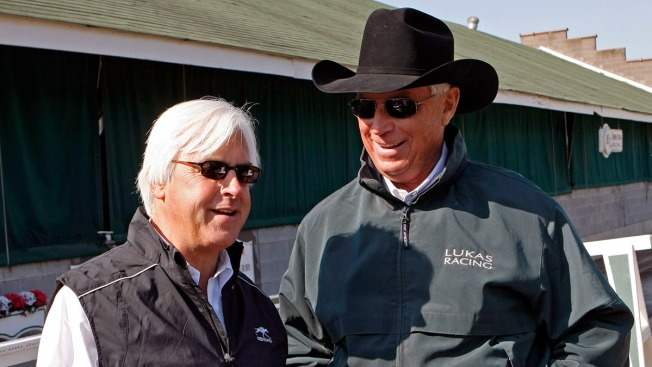 Rival Trainers Baffert and Lukas Share a Strong Friendship