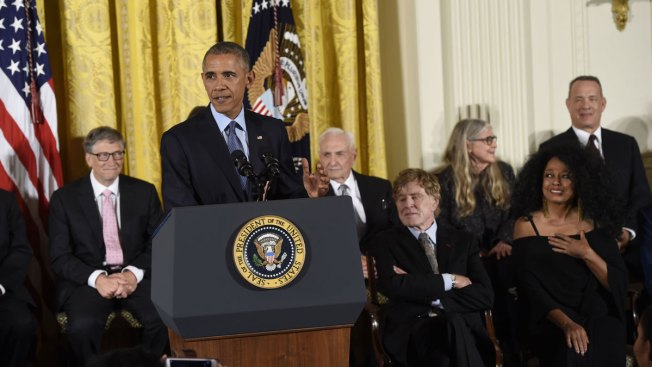 DeGeneres, Hanks, Jordan and More Receive Presidential Medal of Freedom