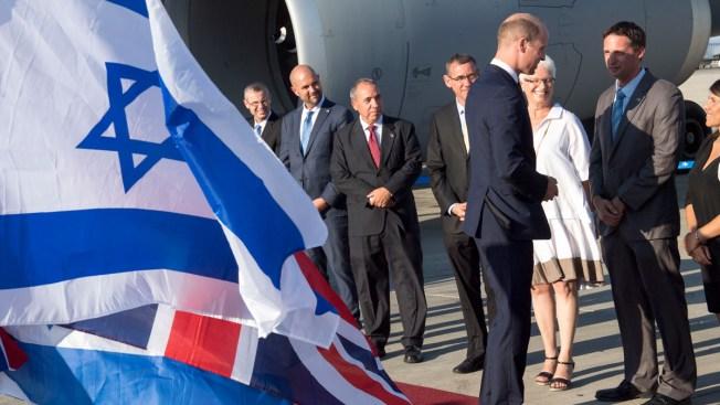 Prince William Arrives in Israel for Historic Royal Visit