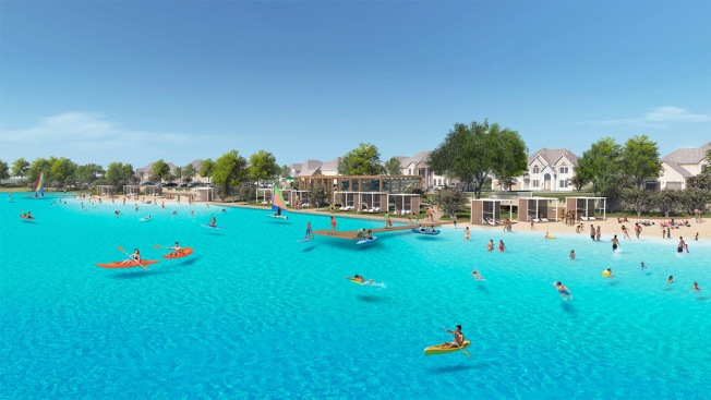 Prosper's Crystal Lagoon Will Be Ready for Swimmers Next Spring