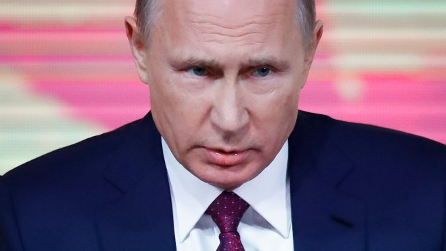Putin Praises Trump, Says US President's Foes 'Invented' Collusion Claims