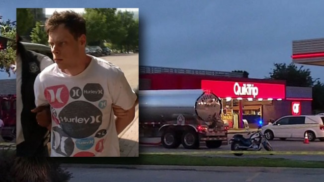 Man Arrested In Fatal Shooting Outside Qt Gas Station Nbc 5 Dallas