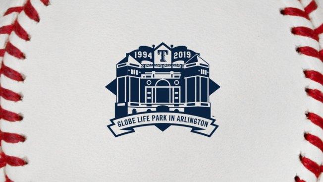 Rangers Debut New Logo for Final Season at Globe Life Park