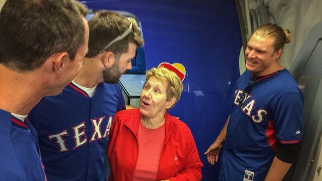Rangers Swap with Southwest Airlines Employees at Love Field