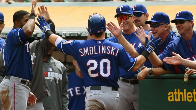 Smolinski Earns Roster Spot in OF
