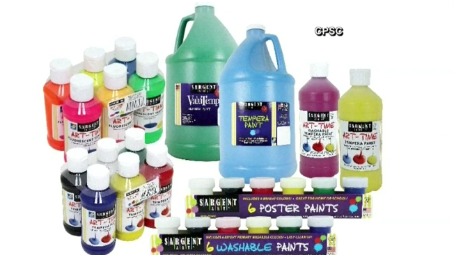 Millions of Craft Paints Recalled Due to Harmful Bacteria