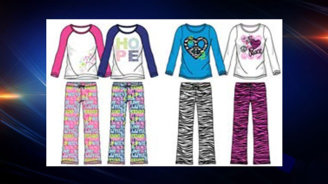 Thousands of Children's Pajamas Recalled for Burn Risk