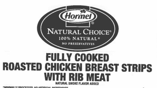 Chicken Recalled Due to Undeclared Allergens, Misprinting