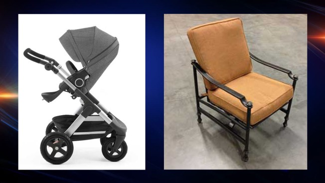 Strollers, Patio Chairs Among Newest Recalls