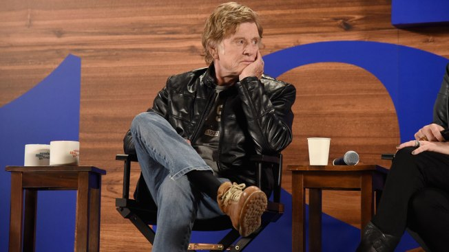 Redford Says He's Ready for Smaller Onstage Role at Sundance