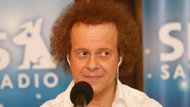 Richard Simmons Comes Home From The Hospital