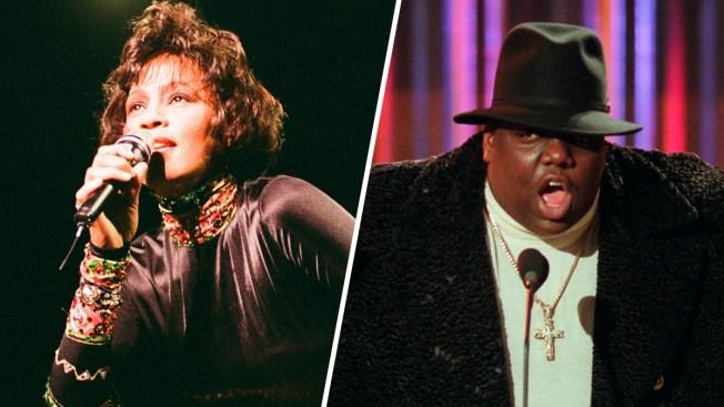 Whitney Houston, Notorious B.I.G. Among 16 Rock Hall Nominees