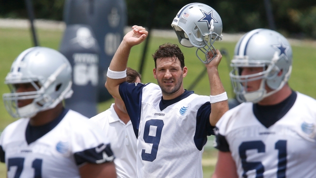 "Tony Romo Praises ""Wednesdays Off"" Practice Plan"