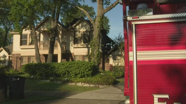 Fire Damages Challenger Astronaut Widow's Houston-Area Home