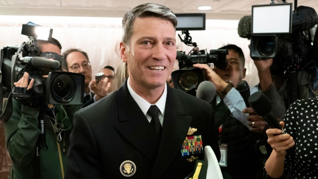 Trump Taps Failed VA Nominee Ronny Jackson as Chief Medical Adviser