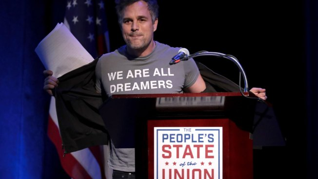 Mark Ruffalo Leads Counter-Event to Trump State of the Union