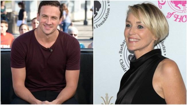 Ryan Lochte to Co-Star in New Sharon Stone Film
