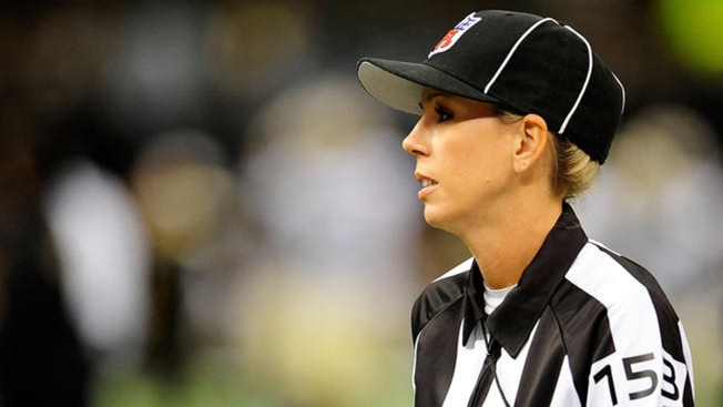 Sarah Thomas Announced as NFL's First Full-Time Female Official