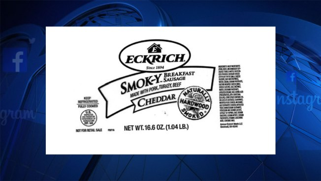 Armour recalls 100K lbs. of sausage, which might contain metal