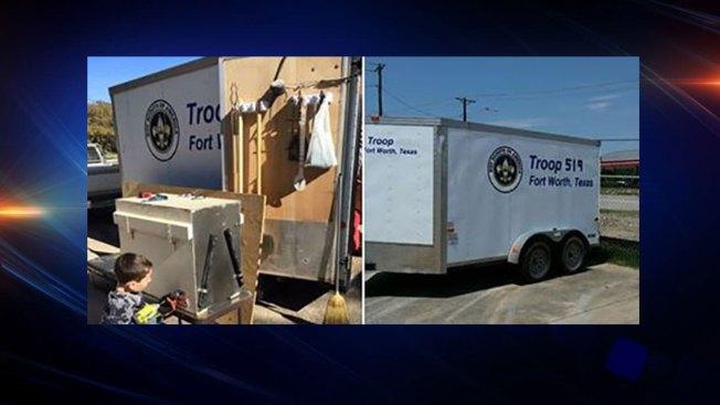 Local Boy Scout Troop Trailer Camping Gear Stolen Police