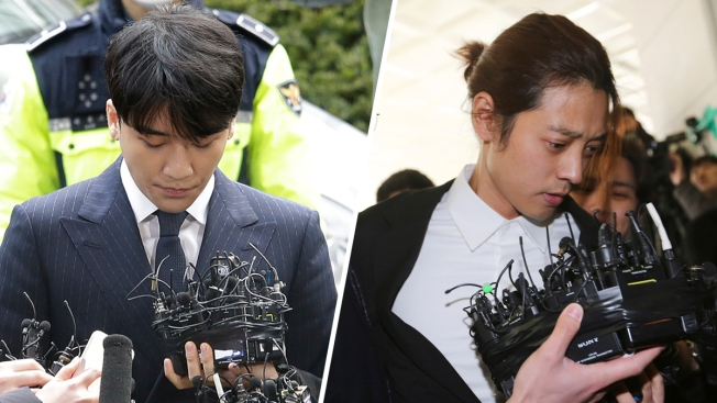 K-Pop Stars Seungri and Jung Joon-young Questioned by South Korean Police Over Sex Scandals