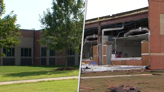 Tornado Damaged Red Oak Isd School Set To Reopen Nbc 5 Dallas Fort